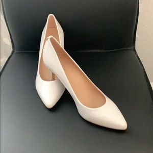 Kate Spade ♠️ white Patent  leather shoes ❤️♠️❤️♠️